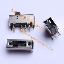 Manufactor Direct selling Toggle switch SS-23H03 2P3T 8Pin Vertical Slide Switch