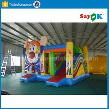 Cheap Giant combo bouncy castles inflatable bounce slide combos for sale