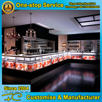 Modern used bar furniture interior bar counter design