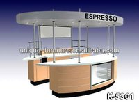 2013 Easy mobile coffee espresso kiosk design