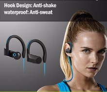 2017 Hot Selling High quality bluetooth wireless earphone for sports