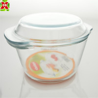 New Design Pyrex Glass Microwave Borosil Cookware
