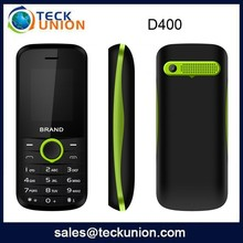 D400 1.77inch Wholesale Custom small size Cell Phone with GPRS
