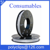 poly clips 15-9 Heavy Duty silicon adhesive clips 15-10 Food Standard sausage Packing Use Aluminum Great Wall R-Clips