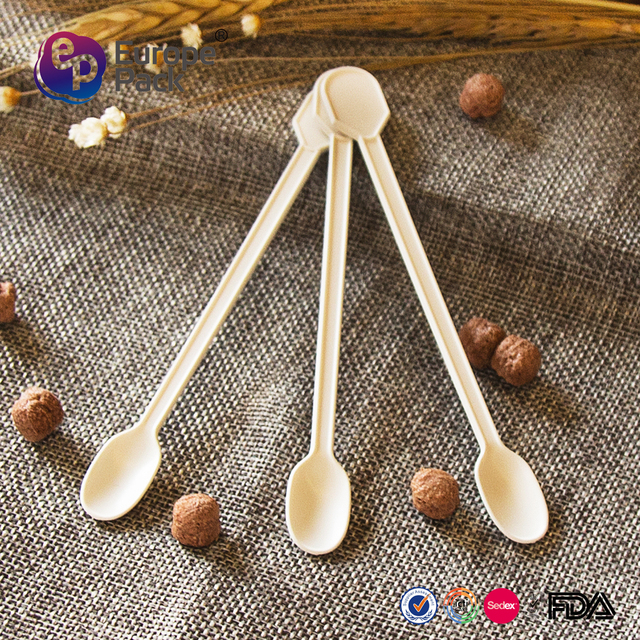 EPK selling appetizer icecream long handle spoon with low price
