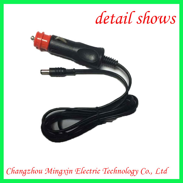 New design 12v 24v dc power charger cable for lorry blanket in china