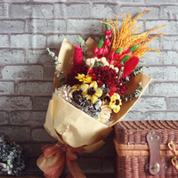 Decorative Flowers & Wreaths Type and office,family,public places,hotel,restaurant Occasion flower craft bunch