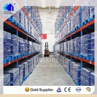 Coldroom warehouse storage heavy duty corrosion protected pallet rack