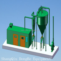 carbon black recycling equipment refinery equipment from used tire pyrolysis machine
