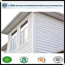 Exterior wall class-A1 Fire-proof Wood Grain Siding Panel for Building & Decoration Material