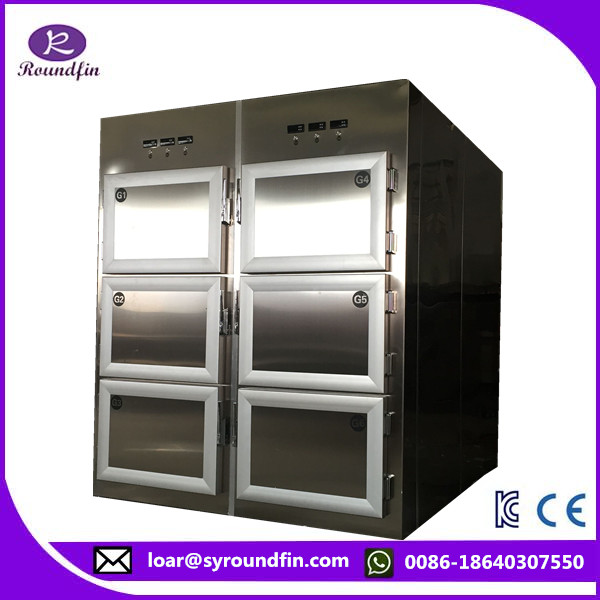 2016 new model Stainless steel 304 mortuary dead body refrigerator