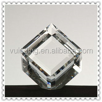Diamond Cube Blank K9 Crystal For Engraving Wholesale