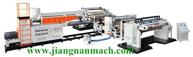 pe extruding coated biscuit packing film laminated machine