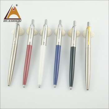 high quality promotional Jotter metal clip ballpoint pen