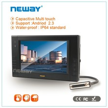 RS232 X 4 , USB port 7 inch CAN industrial GPS windows Android Touch screen terminal