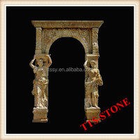 Marble Stone Arch Door Frame for Doorway