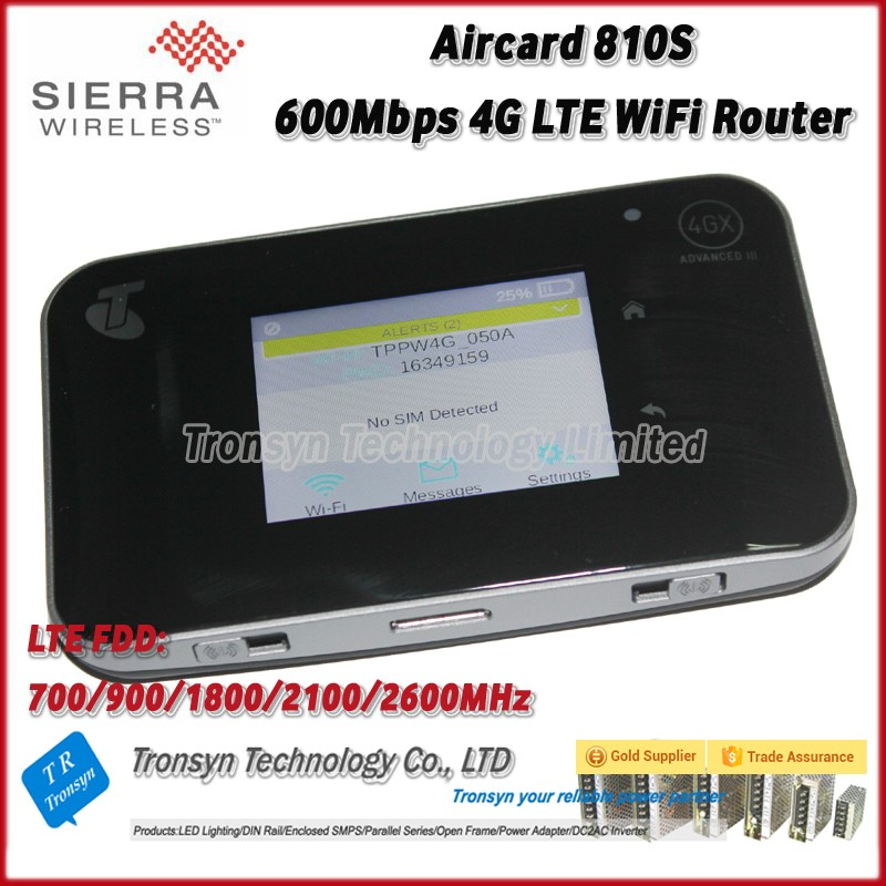 Netgear Aircard 810S Cat11 600Mbps 4G VPN Router With Sim Card Slot Support LTE FDD B1 B3 B7 B8 B28