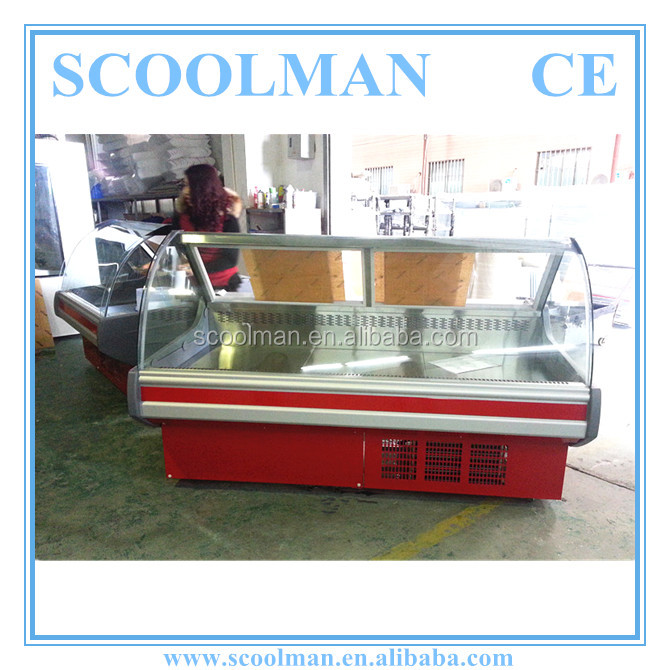 Commercial Used Electric Hot Food Display Case