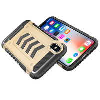 Strong Arrow Shield Shockproof Defender Case For Apple iPhone X Phone Double Layers Skin For iPhone X Back Cover