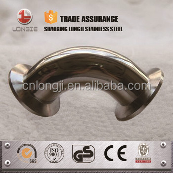 AISI304 stainless steel pipe reducer / tee / bend
