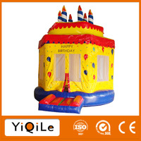 Birthday carke high quality inflatables children playground