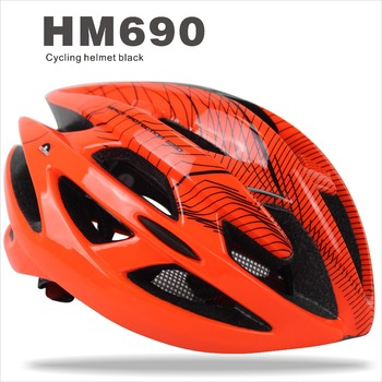 Bright Orange Beautiful Bicycle Helmet,Cycling EPS Helmet for Kids/Men/Women (Adult)