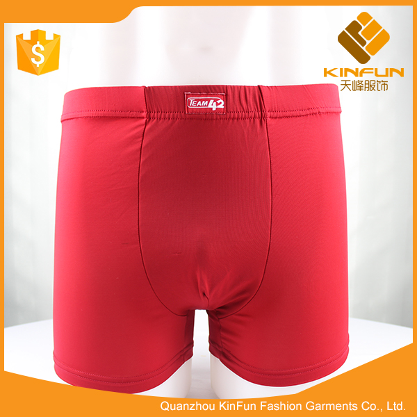 Orthopedic modal men boxer underwear