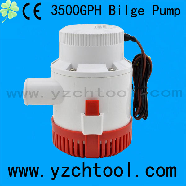 CH8028 boat automatic bilge pump 12v 3500GPH bilge pumps With CE