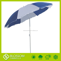 Beach umbrella with carry bag, beach umbrella frame with painting