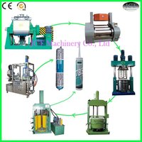 JCT stainless steel machine for silicone sealant production line