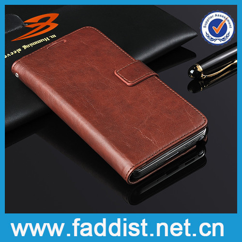 OEM pu leather flip case cover for samsung galaxy note3 neo