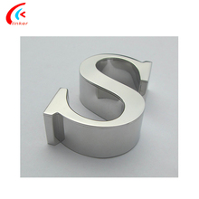 3D Outdoor Advertising Stainless Steel Alphabet Letter Signs