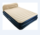 Bestway 67483 89'' X 60'' X 29'' Inflatable Flocked Airbed Mattress With Backrest Downy airbed
