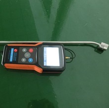 Ultrasonic sound intensity and frequency measuring meter