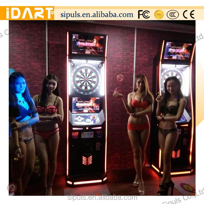 2016 Online Game Dart Machine For Soft Tips With Wifi Or Internet For Building Show Hot sale