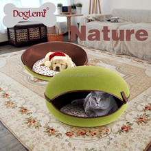 Trade Assurance DogLemi Newest Luxury Cat Bed Cave Fashion Protable Pet Bed House Wholesale Hot Dogs Products