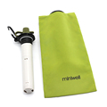 miniwell collapsible water bottle with filter