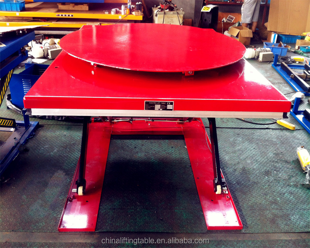 Tilting mini lift 2500 car lifting machine high quality electric scissor lift table for sale