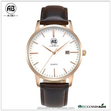 AIBI China Manufacturer Direct Japan Quartz Stainless Steel 2017 Private Label Watch