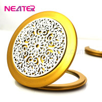 Neashine Love girl Unbreak cosmetic mirror Exquisite Round toilet mirror