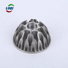 High precision pressure aluminum led lighting fixture die casting parts