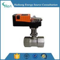electric motorized valve ball valve modulating or on/off type 1'' to 4''
