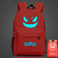 Printing Game Pokemon Go Backpack School Bag For Teenager