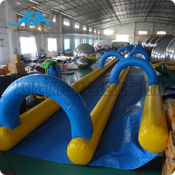 Custom Commercial Outdoor Inflatable Slip N Slides Inflatable Slide The City Factory