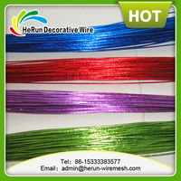 PET colored craft wire &Metallic wire 20GA 0.91