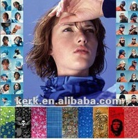 Customized Design NECK TUBE Outdoor Multi Functional Print Seamless Bandana Scarf, Best Discount Express Shipment