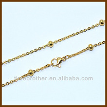 Pretty Necklace Jewelry Making Gold Chain