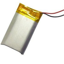 3.7V 402535 300mAh Rechargeable polymer lithium battery for military product