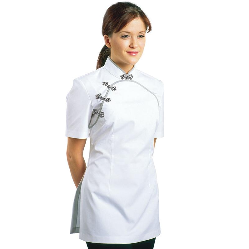 List manufacturers of thai spa uniform buy thai spa for Spa uniform tops