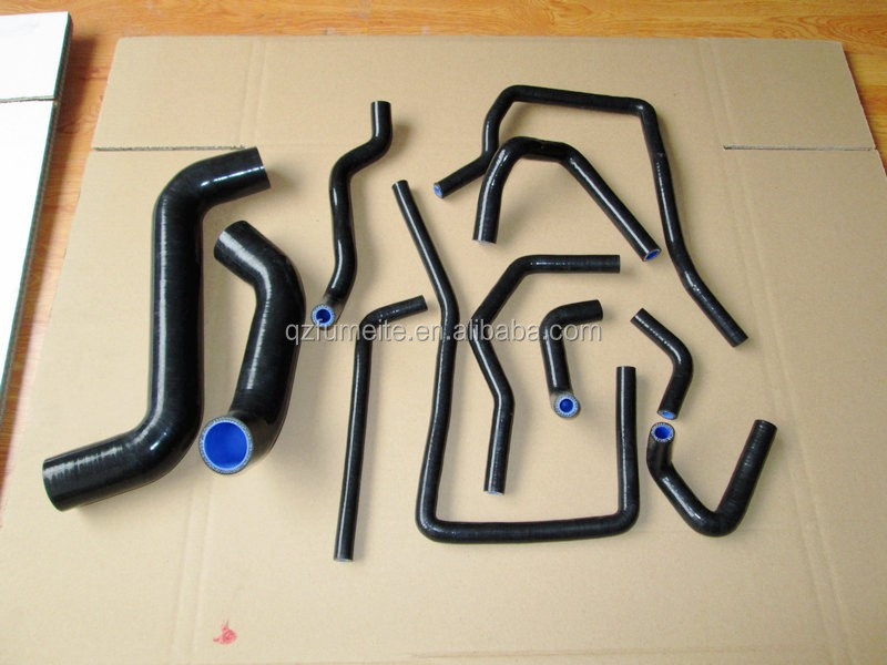 For TOYOTA MARK II 2/CHASER/CRESTA JZX100 1JZ-GTE SILICONE RADIATOR/COOLANT HOSE KIT